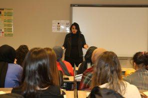 Sebahat Bağbars Üsküdar Üniversitesi'ndeydi…